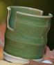 Commercial Web Diggins - Green Sponge Holder